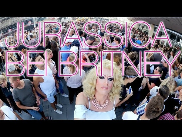 Jurassica Parka bei Britney Spears (06.08.2018 Berlin)