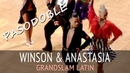 Winson Tam Anastasia Novikova Пасодобль GOC2018 GrandSlam LATIN 5тур