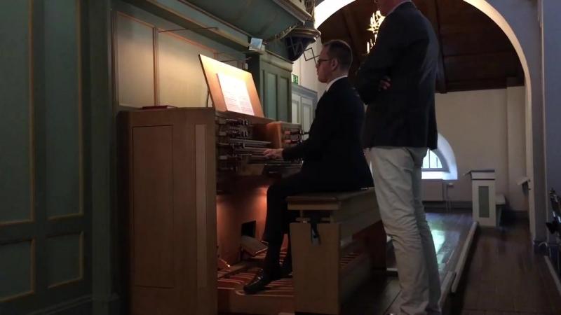 546 J.S. Bach - Prelude and Fugue in C minor, BWV 546 - Daniele Dori, organ