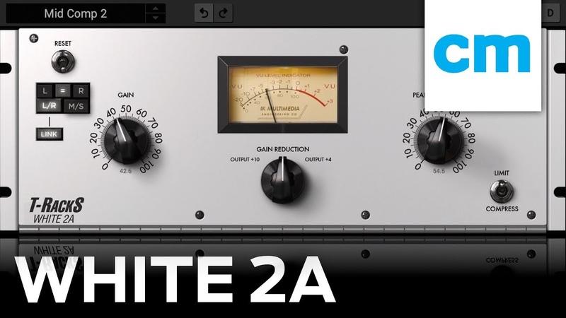 FREE VSTAUAAX worth €99 IK Multimedia White 2A   LA-2A Mixing Tutorial