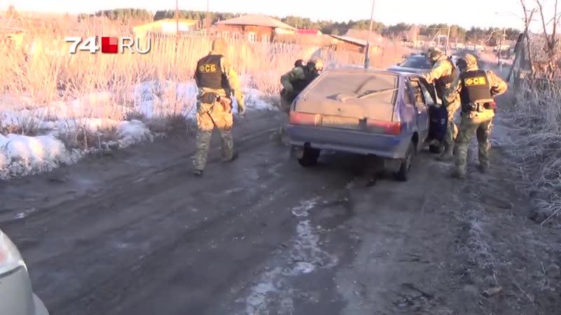 В Челябинске задержали сбытчиков оружия