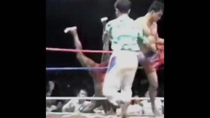 Бирманский бокс летхвей нокауты