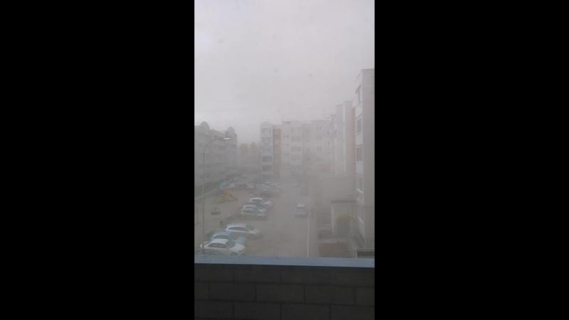 Песчаная буря в Арамили