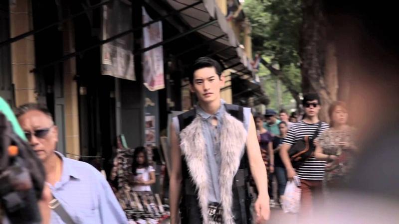 BAZAAR MEN FILM Kim Tae Hwan Harpers BAZAAR MEN Thailand Fall-Winter 14-15
