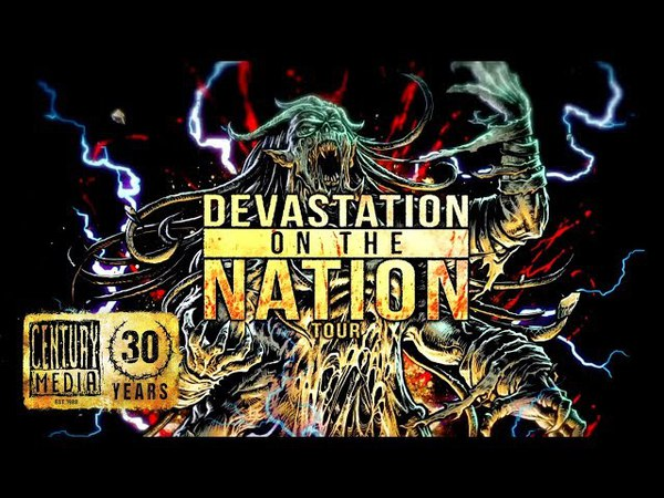 Devastation On The Nation Tour feat ABORTED, PSYCROPTIC, INGESTED more