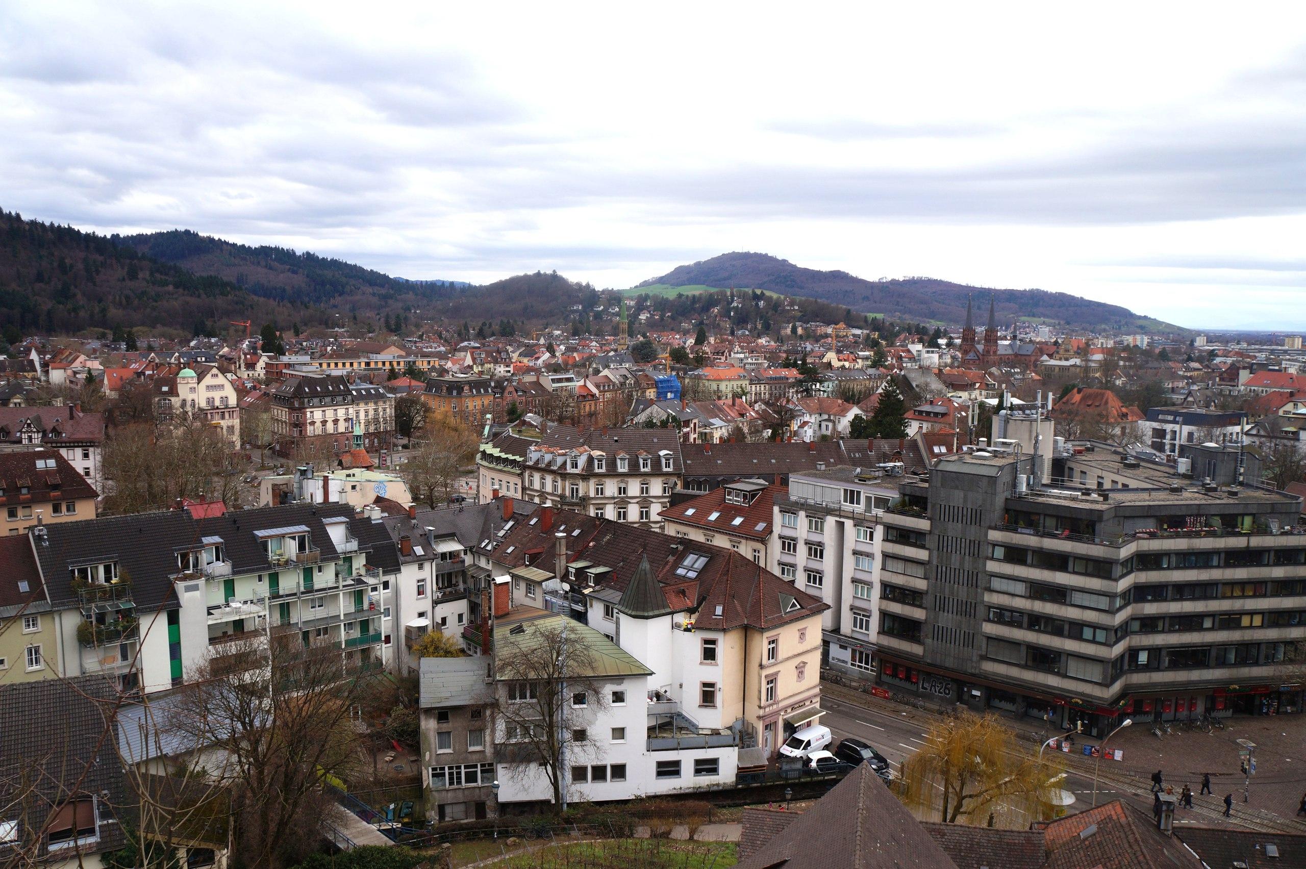 Фрайбург - город на краю Черного леса