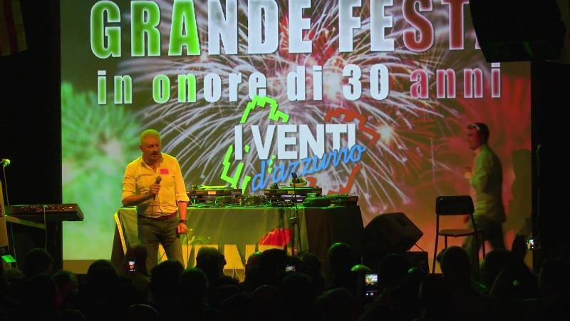 I Venti D'Azzurro 30 Anniversary Party! - Preformance Parte 2 [Live concert 7 may 2016] HD