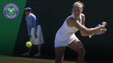Karolina Pliskova vs Mihaela Buzarnescu 3R Highlights Wimbledon 2018