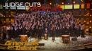 Angel City Chorale Amazing Choir Earns Golden Buzzer From Olivia Munn America's Got Talent 2018
