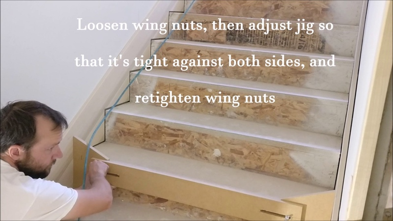 How to make a quick and cheap stair tread jig (under $5)