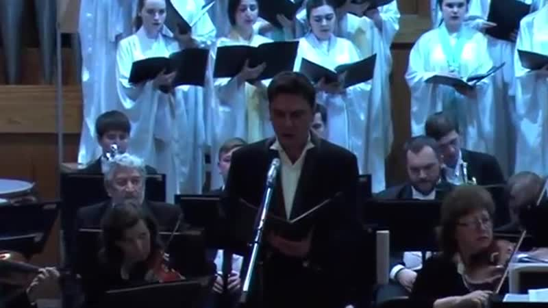 Рахманинов Кантата Весна Оркестр хор Благовест 30 03 2018