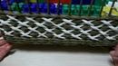 Узор крестики из газетных трубочек/The pattern crosses of newspaper tubes