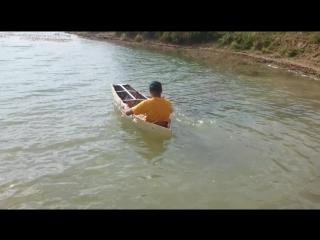 Лодка мини-байдарка)