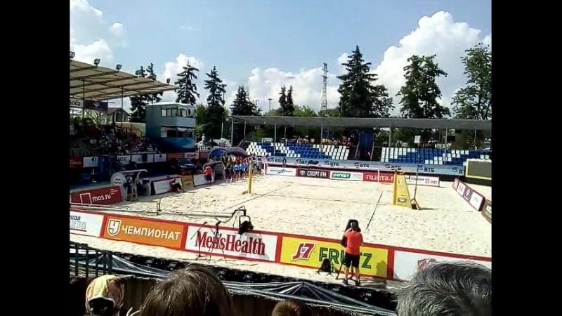 Вид спорта пляжный волейбол