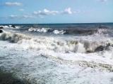 Как смывало Акулью бухту в августе 2017 ШТОРМ
