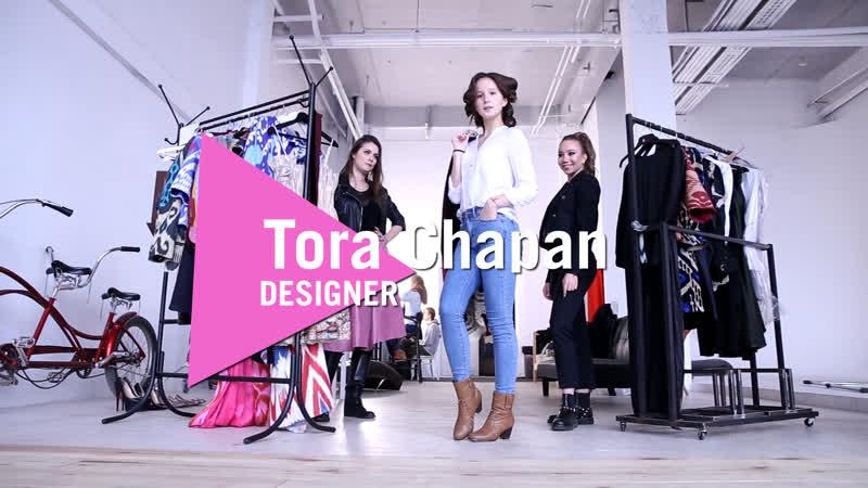 Backstage video   Designer Victoria Chapan (re-edit)