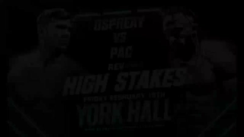 Will Ospreay vs PAC