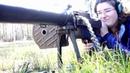 WWI Light Machine Gun High Speed B-Roll