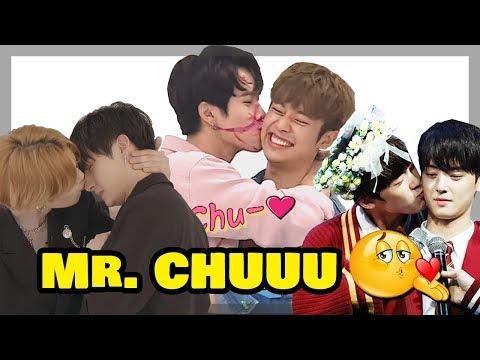 Male Kpop Idols Kissing Moments EXO Wanna One BTOB BTS Astro Monsta X Got7 iKON more