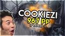 Osu Cookiezi Asriel Kegare Naki Yume Epilogue HD 99 46% 1 ❤ 967pp if ranked Livestream