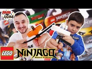 Папа Дома • Папа Роб и Ярик: СПИННЕР челлендж LEGO NINJAGO!