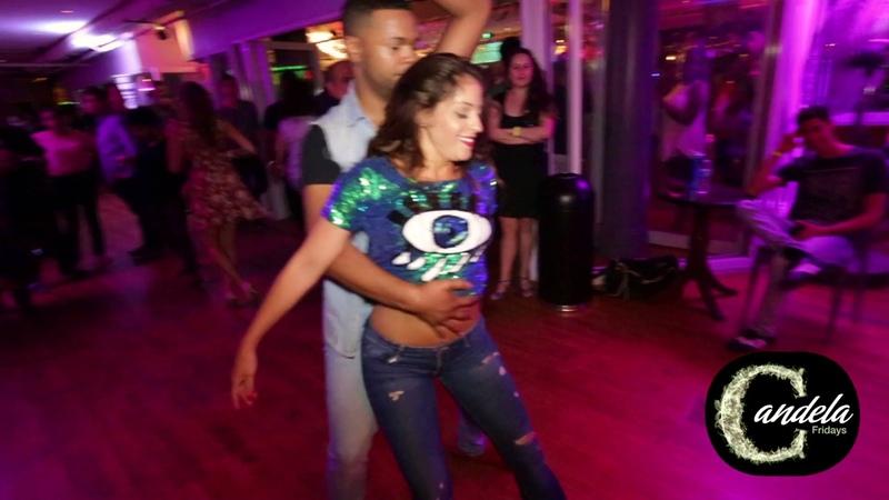 Shani Talmor Antonio Doza Jeremey Adam social dancing at Candela Anniversary