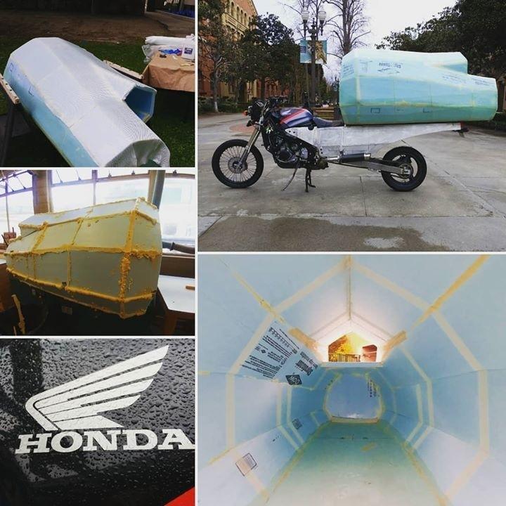 Мотокемпер MotoHome