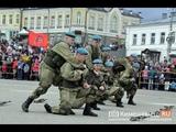 Показательные выступления разведчиков 98-й гвардейской воздушно десантной дивизии