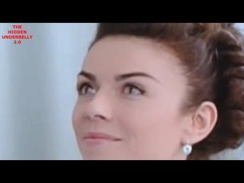 Ukrainian Female Co-Host Caught Blinking Her Reptilian Eyes During Interview