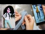 DIY Кукла КАТЯ КЛЭП - ООАК Катя Клэп из куклы Монстер Хай - Как сделать ООАК - Кукла для Души