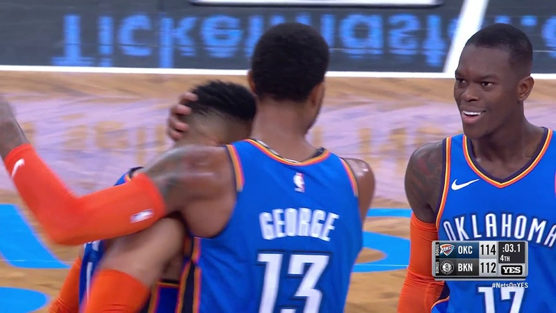 Paul George GAME-WINNER - Thunder vs Nets | Dec 5, 2018 | 2018-19 NBA Season