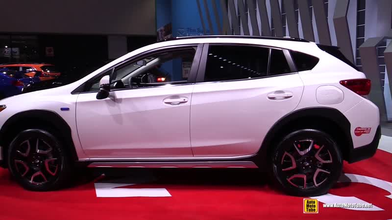 2019 Subaru Crosstrek Plug In Hybrid Exterior Interior Walkaround Debut at 2018 LA Auto Show