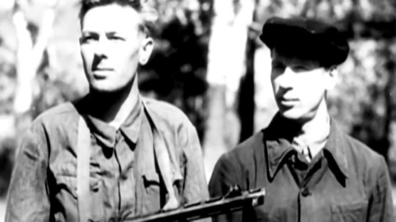 Советские партизаны во время Великой Отечественной войны