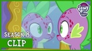 Spike Breaks Out in Stone Scales Molt Down MLP FiM HD