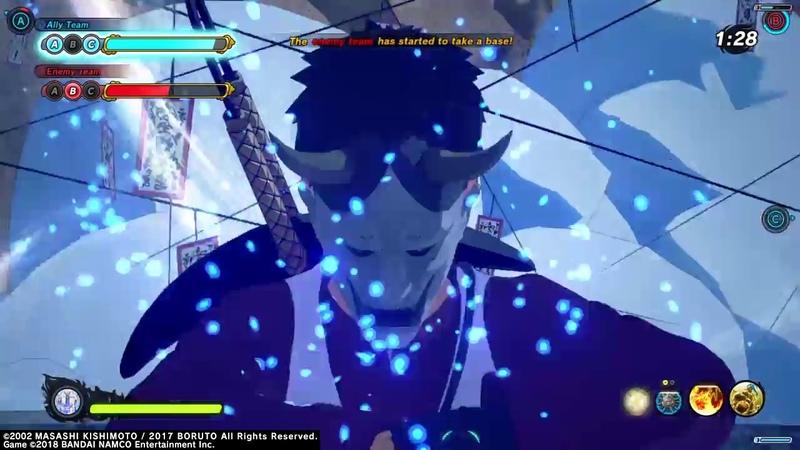 NARUTO TO BORUTO SHINOBI STRIKER Reaper Death Seal Attack Base Battle Gameplay