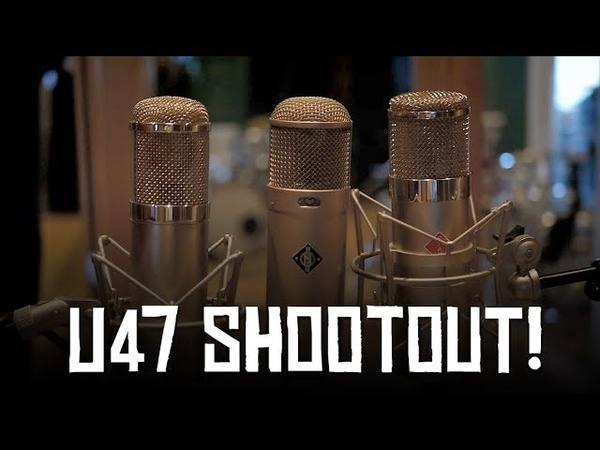 U47 Shootout Neumann Stam Audio Peluso HoboRec Bull Sessions 53