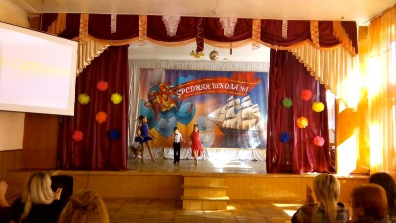 Єгор та Евеліна, Святослав і Софія - творчий подарунок вчителям