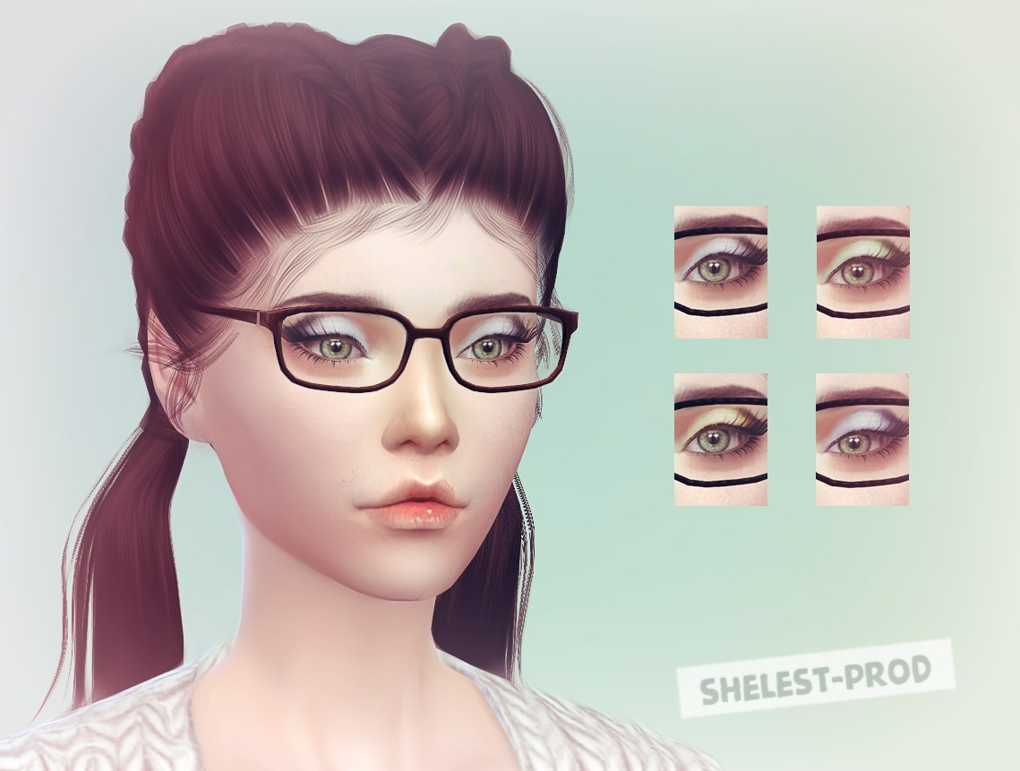 Eye shadow N1 by Shelest