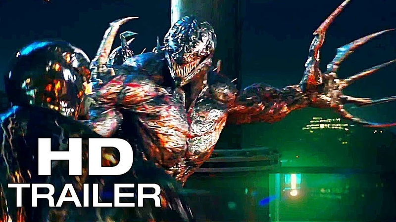 VENOM Final Trailer 2018 Tom Hardy Michelle Williams Sony Pictures NEW Superhero Movie