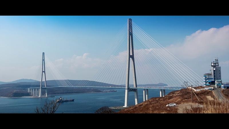Босфор Восточный. Владивосток ( test RAW video 14 bit Canon 70D )