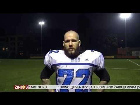 Amerikietiškas futbolas Lietuvoje - TV3 žinių reportažas