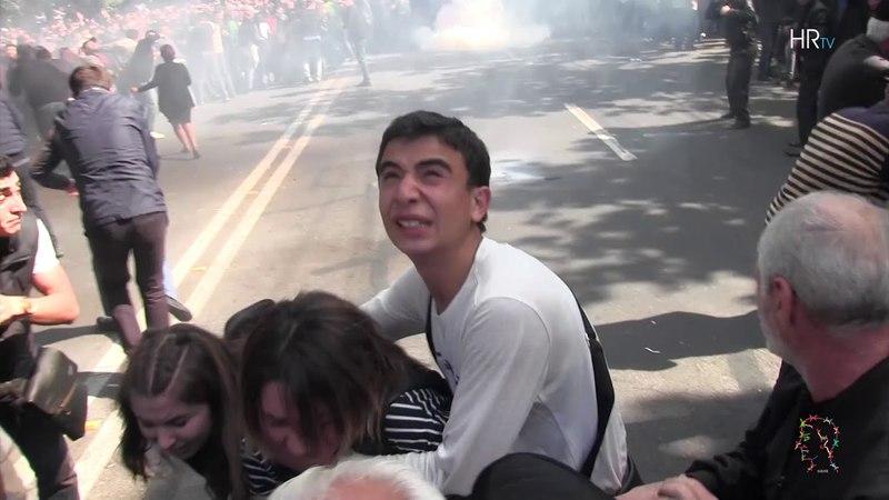 Բացառիկ կադրեր. ոստիկանության բռնությու1398