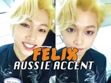Stray Kids Felix Speaking English (Australian Accent)