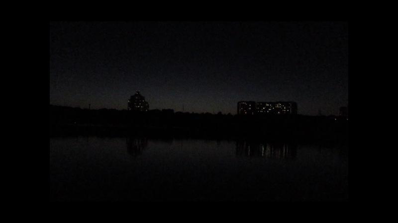 Панорамная съемка паркового ансамбля Борисовские пруды ЮАО г. Мосвквы