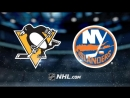 НХЛ - регулярный чемпионат. Нью-Йорк Айлендерс - Питтсбург Пингвинз - 4:1 (2:0, 0:1, 2:0)