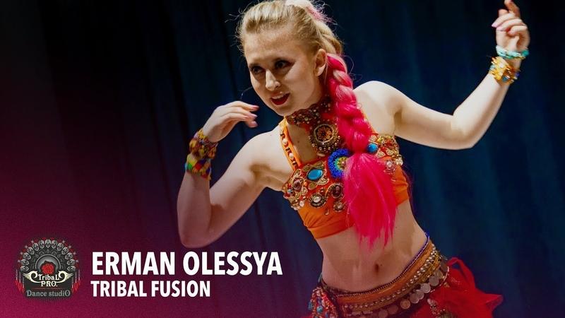 ERMAN OLESSYA Tribal Fusion Solo Ethnic AfroDance