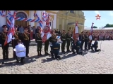 Выпускники петербургского кадетского военного корпуса Минобороны РФ получили аттестаты в Петропавловской крепости