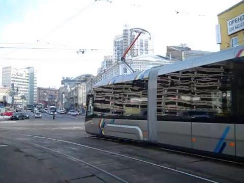 Трамвай Електрон Т5В64 м. Київ