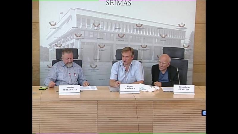 Signatarai apie Lietuvoje veikusią, galimai ir toliau veikiančią teroristinę organizaciją, apie Lansbergių šeimos istoriją, taip