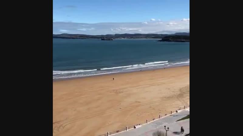 La Playa del Sardinero, Santander